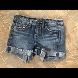 Silver Toni Jean Shorts